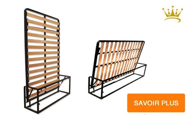 maximisez l 39 espace chez vous avec un lit escamotable parfait le sommier est mont sur un. Black Bedroom Furniture Sets. Home Design Ideas