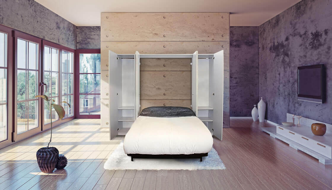 Modern murphy wall bed kits